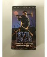 The Evil Dead (VHS, 1998) Horror Slasher Classic Vintage Digitally Mastered - $14.01