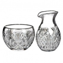 Waterford Pineapple Hospitality Sugar and Creamer Set #156115 New - $189.34