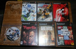 7-lot playstation 2 games see description in good shape used - $19.79