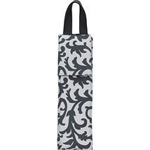 Gray Damask Print NGIL Insulated Wine Bottle Carrier Tote - €14,01 EUR