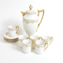 LIMOGES CORONET PORCELAIN TEA SERVICE SET - $338.13