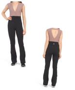 Free People Wayward High Beams Khaki/Black Jumpsuit NWT - $68.99