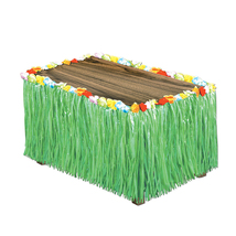 "Beistle Party Artificial Grass Table Skirting 30"" x 9' Green - 6 Pack (1... - $78.16"