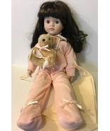 Pajama Baby & Bear Porcelain Face & Hands - $9.49