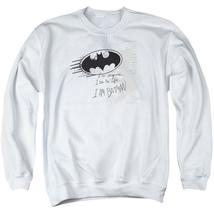Batman - I Am Vengeance Adult Crewneck Sweatshirt Officially Licensed Ap... - $29.99+