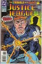 """Justice League America #83 DC Comics 1993 """"Trouble with Guys"""" Part 1 - $4.89"""