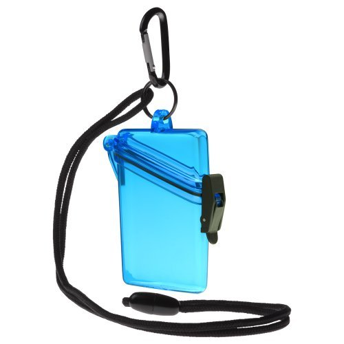 Witz 00402-Blue See it Safe Waterproof ID/Badge Holder Case, Blue