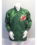 New Jersey Devils Jacket (VTG) - Green Windbreaker by Starter - Men's La... - $129.00