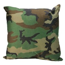 "17"" Decorative Wicker Furniture Patio Throw Pillow - Woodland Terrace Ca... - £17.64 GBP"