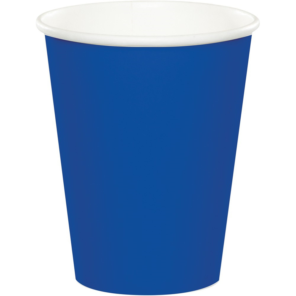 Touch of Color 9 oz Hot/Cold Cups Cobalt/Case of 240