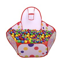 Mudder Kids Ball Pit Playpen Toddler Play Tent Sea Ball Pool with Mini B... - $16.99