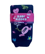 Baby Kisses Tights Footless 1 Pair Size: 4-6 Peace, Love, OMG, Amazing - £5.72 GBP