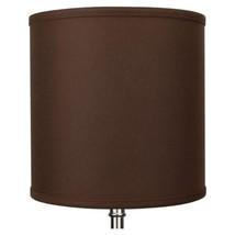 10 in. Top Diameter x 10 in. H x 10 in. Bottom Diameter Linen Coffee Dru... - $83.85