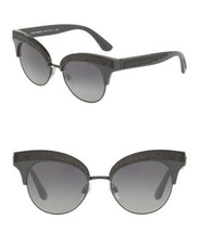 $540 Dolce Gabbana Embellished Cat Eye Sunglasses 50-18-140mm Black NIB NWT - $125.30
