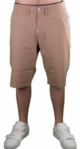 LRG Support Network True Straight Cotton Brown Shorts 30 NWT image 2
