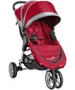 NEW Baby Jogger 2016/2017 City Mini Stroller Buggy Pushchair Crimson SEALED - $209.99