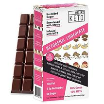 Kiss My Keto Low Carb Keto Dark Chocolate Keto Snack, (4 Pack) A Perfect Sweet T - $24.99