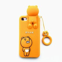 Lovely Cartoon Ryan Lion bear back cover cases for iphone 7 /7plus/ 6 6S... - $14.30 CAD