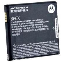 Original BP6X Battery For Motorola A855 MB200 XTMB501 i1 A955 A853 XT701 XT720 - $4.02