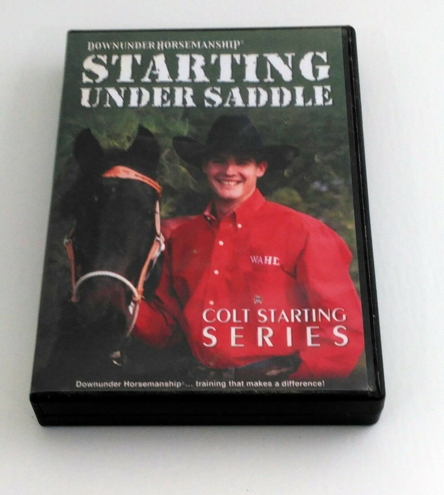 "Primary image for Clinton Anderson in Starting Under Saddle ""Colt Starting Series"""