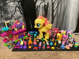 Hatchimals Squinkies My Little Pony Mallows Shopkins And More Huge Lot 60+ - $27.93