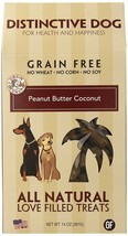 Treat Dog, Peanut Butter Macaroon Training Grain Free Organic Natural Do... - $19.99