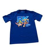 Running Universal Race Universal Studios 5k Blue Shirt 2020 Medium - $13.96