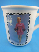 Vintage Barbie Doll Nostalgic 1969  Mug Cup 1991 Applause Korea - $13.85