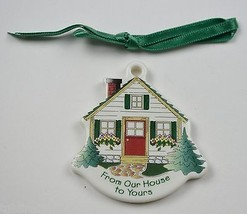 Longaberger Pottery From Our House To Yours Tie-On Collectible Accessory... - $12.99