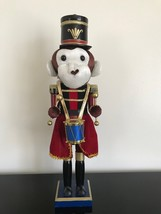 Wooden Nutcracker Soldier Monkey Christmas Ornament 16 inch  - $85.82