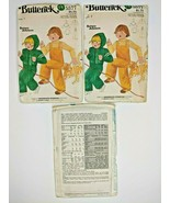 Vintage Butterick Sewing Pattern 5577 Toddlers T Shirt Overalls & Jacket... - $7.88