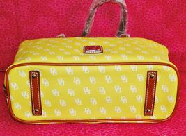 Dooney & Bourke Gretta Yellow Leisure Shopper Tote image 8