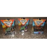 Lot Monster Jam Monster Trucks Kraken Wolfs Head Grave Digger NWT FREE S... - $49.49