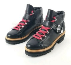 $260 Marc Fisher Ltd Indre Hiker Boot Size 7 Black   - €152,32 EUR