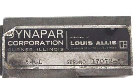 DYNAPAR CORP. TYPE 540L TRANSDUCER image 4