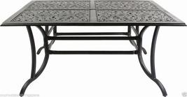 Sling Patio Dining Set 9 pc Cast Aluminum Furniture Outdoor Bronze image 2