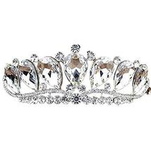 Nobel Dazzle Sliver Crown Headband Alloy Wedding Hair Comb