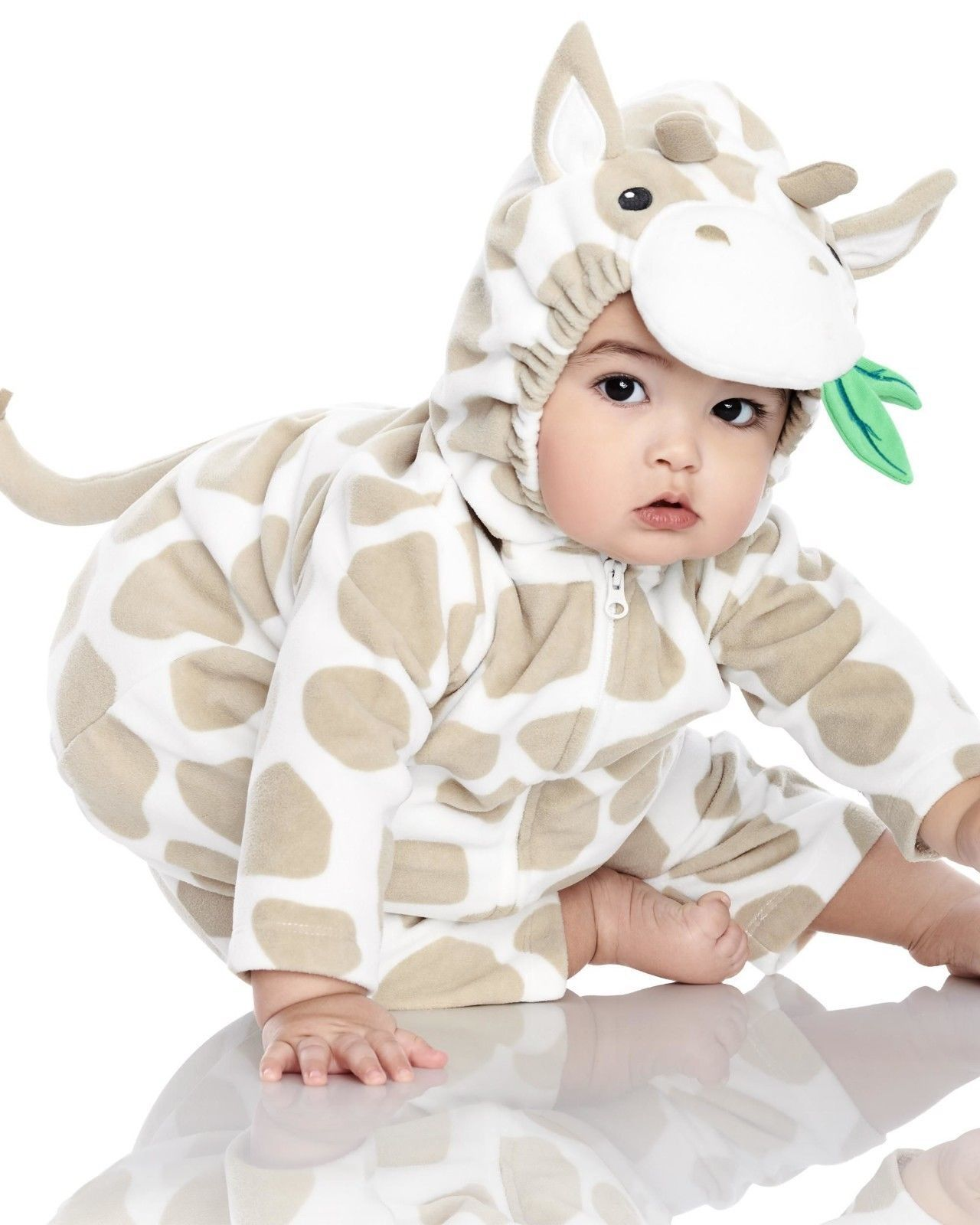 NEW NWT Boys or Girls Carter's Halloween Costume Giraffe 3/6 or 6/9 Months