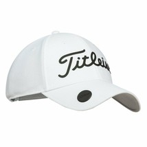 NEW! TITLEIST Unisex Performance Ball Marker Legacy Adjustable Cap-White... - $69.18