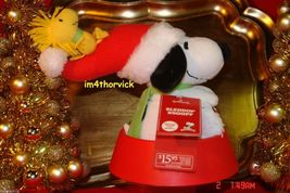 Hallmark 2012 Peanuts Sleddin' Snoopy With Woodstock Features Sound And ... - $19.99