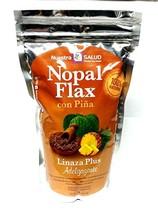 Nopal Flax Piña Linaza Plus Adelgazante with Pineapple (454g) - $18.81