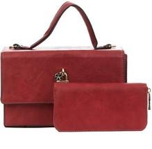Handbag Republic Women's Vegan Leather Fashion Crossbody Handbag Top Ha... - $76.68