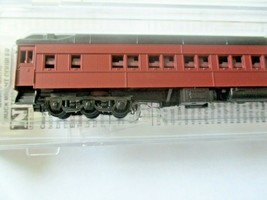 Micro-Trains # 14100002 Undecorated Tuscan Red 10-1-2 Heavywight Sleeper Car (N) image 2
