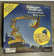 Goodnight, Goodnight Construction Site The Game, Board Game, Pressman 2014 AA178 - $15.47