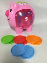 Fisher-Price Laugh & Learn Smart Stages Piggy Bank - $9.69