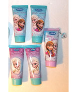 Lot of 5 Disney Frozen Body Lotions and Body Washes Tubes NEW - $9.85