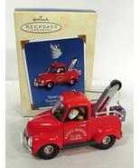 Hallmark Ornament 2002 North Pole Towing Service 24th Here Comes Santa S... - $9.89
