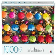 "Big Ben ""Colorful Umbrellas in Bali"" 1000 Piece Jigsaw Puzzle - 20"" x 27"" in - $25.29"