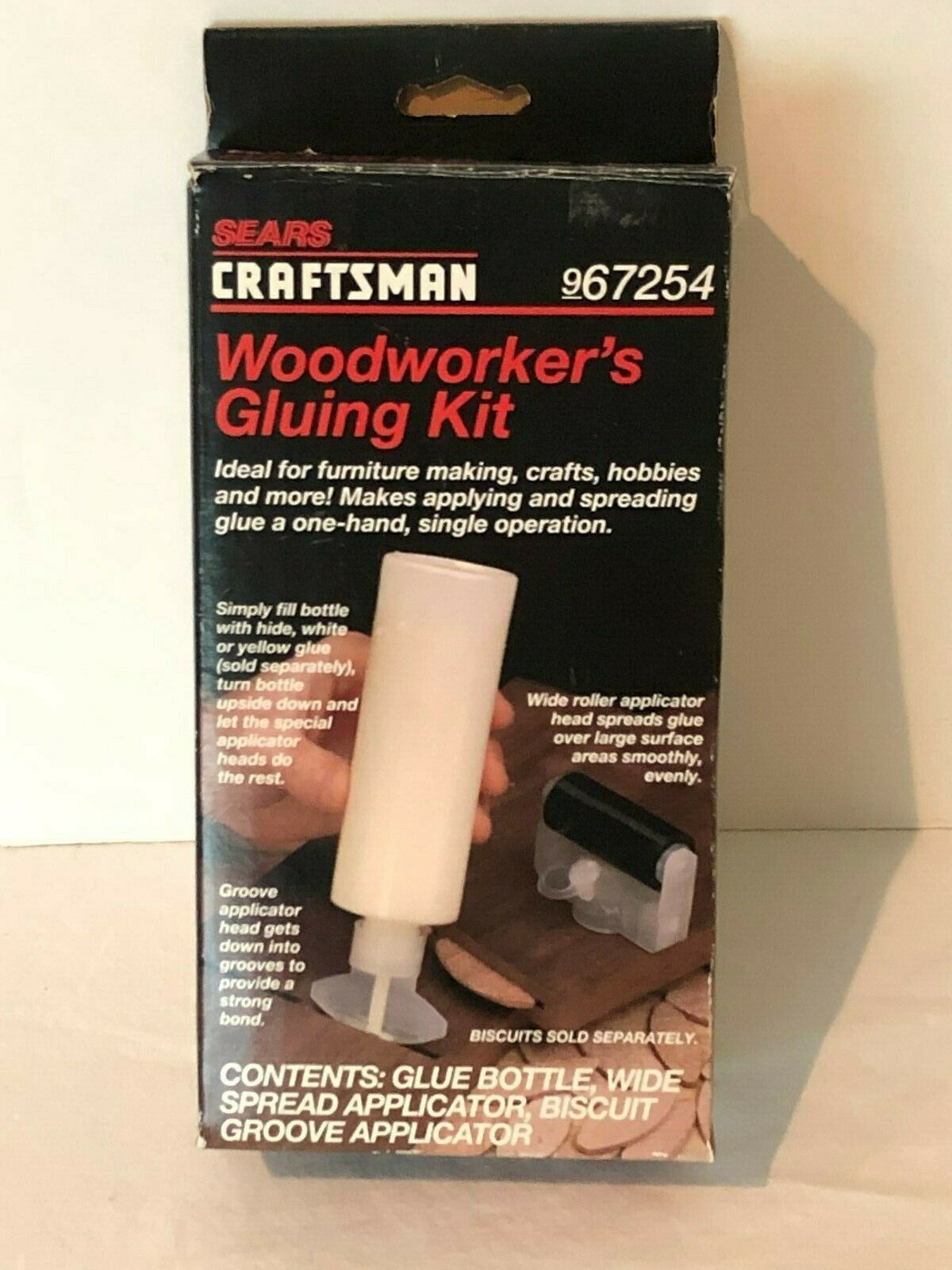 Primary image for Craftsman Sears Woodworkers Gluing Kit Biscuit Jointing 967254 Vintage Set