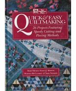 Quilt Pattern Book-Quick & Easy Quiltmaking-26 Projects-Speed Cutting & ... - $13.95